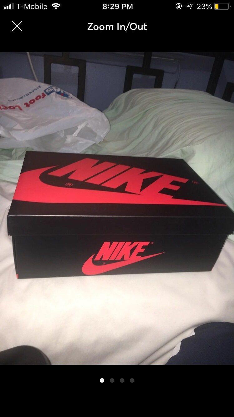 Jordan 1 obsidian ONLY SHOE BOX *No Shoes*   Jordan 1 obsidian ...
