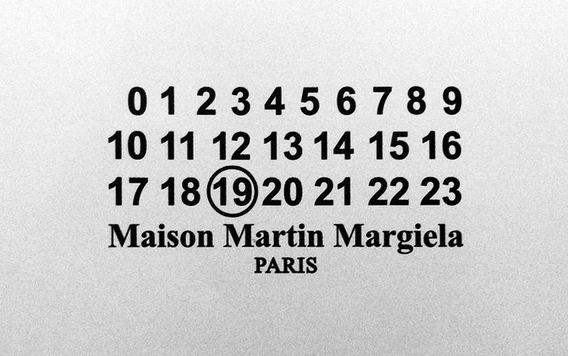 Maison Martin Margiela Design Brand Identity Logos