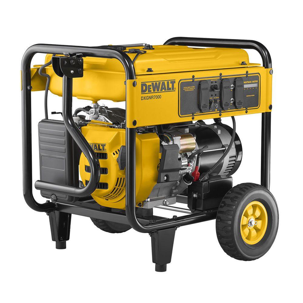 Details about DeWALT 7000 Watt Portable Generator