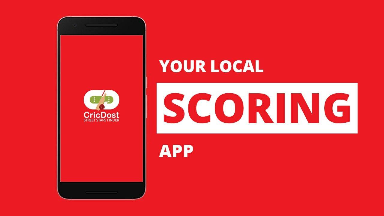 Live cricket scoring app cricdost cricketers app in 2020