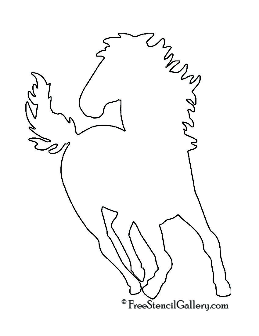 Horse silhouette stencil free stencil gallery horse crafts horse silhouette stencil free stencil gallery pronofoot35fo Images