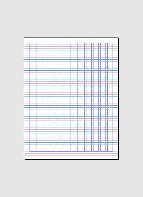 Indesign Grid For 85 X 11 Indesign Stuff Pinterest Grid