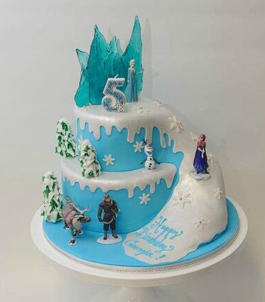 Frozen Cake Frozen Pinterest Birthday cakes Cake and Birthdays
