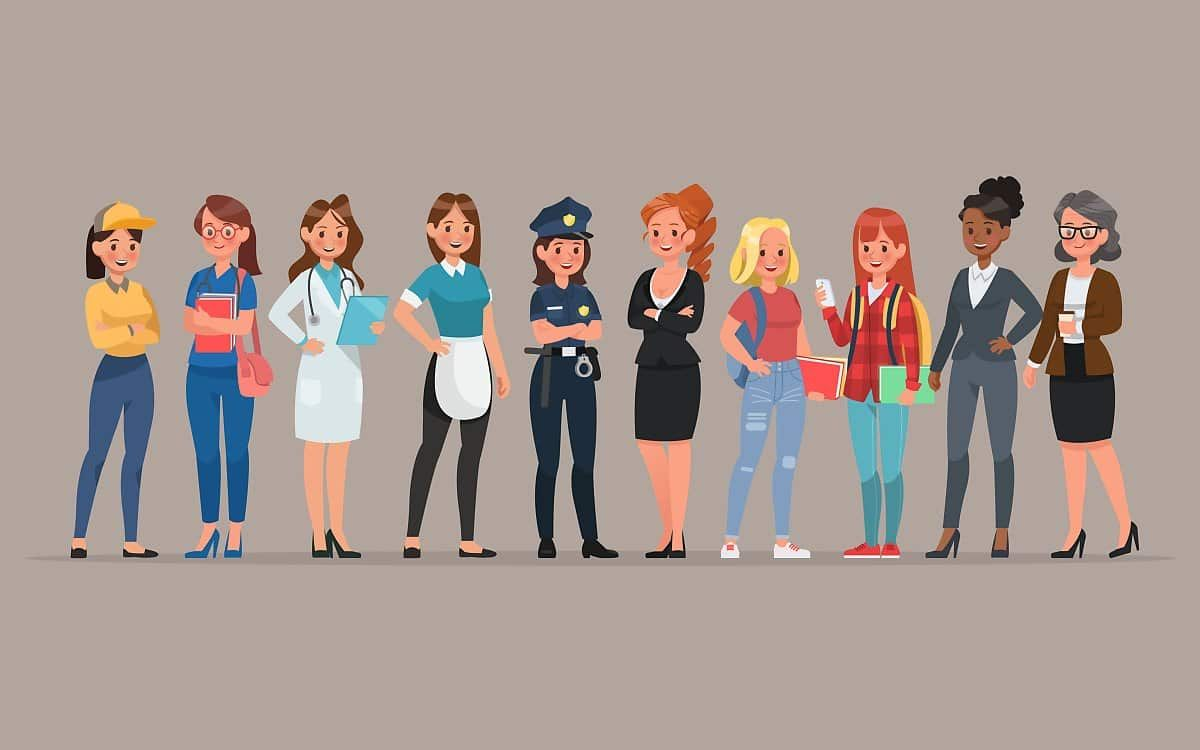 10+ Group Of People In Money Animated Clipart