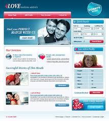 Free online dating website templates