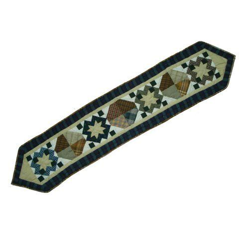 Patch Magic 72 Inch By 16 Inch Pioneer Diamond Table Runner By Patch Magic