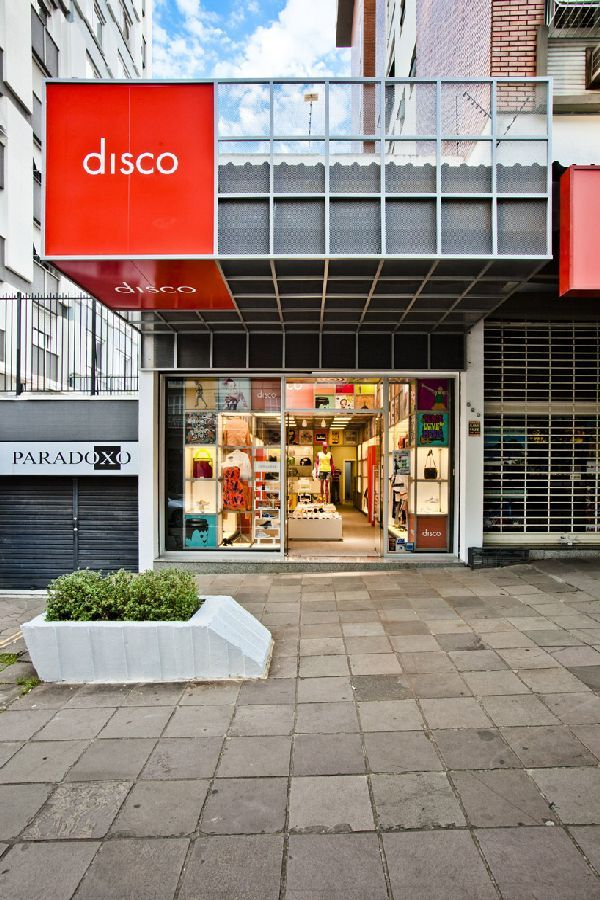 Awesome Innovative Store Concept Interior Design At Disco Experience Store Front  Shop View