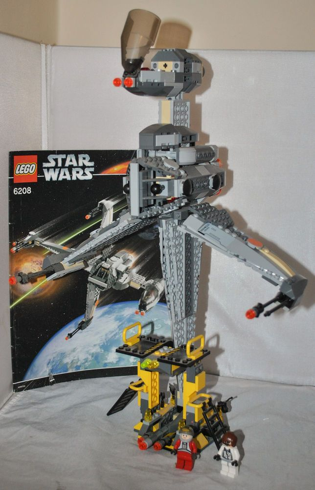 Lego Star Wars B Wing Fighter 6208 With 2 Mini Figures 100