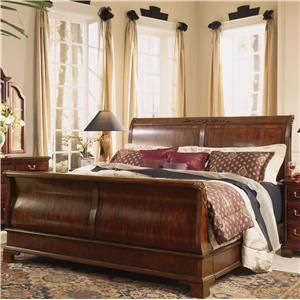 Sleigh Bed British Colonial | Sleigh Bed Store   Alison Craig Home  Furnishings   Naples,