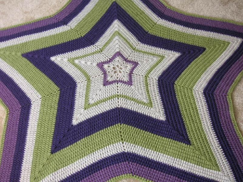 Crocheting: Star Shaped Baby Blanket | carpetas | Pinterest ...