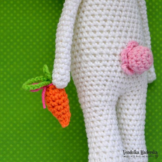Crochet pattern Easter bunny by VendulkaM amigurumi by VendulkaM