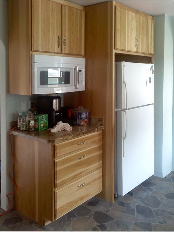 microwave cupboards cabinets Kitchen cabinets for fridge and