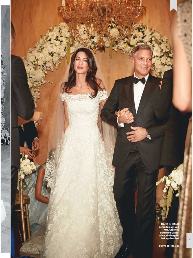 Amal Alamuddin and George Clooneys #Wed