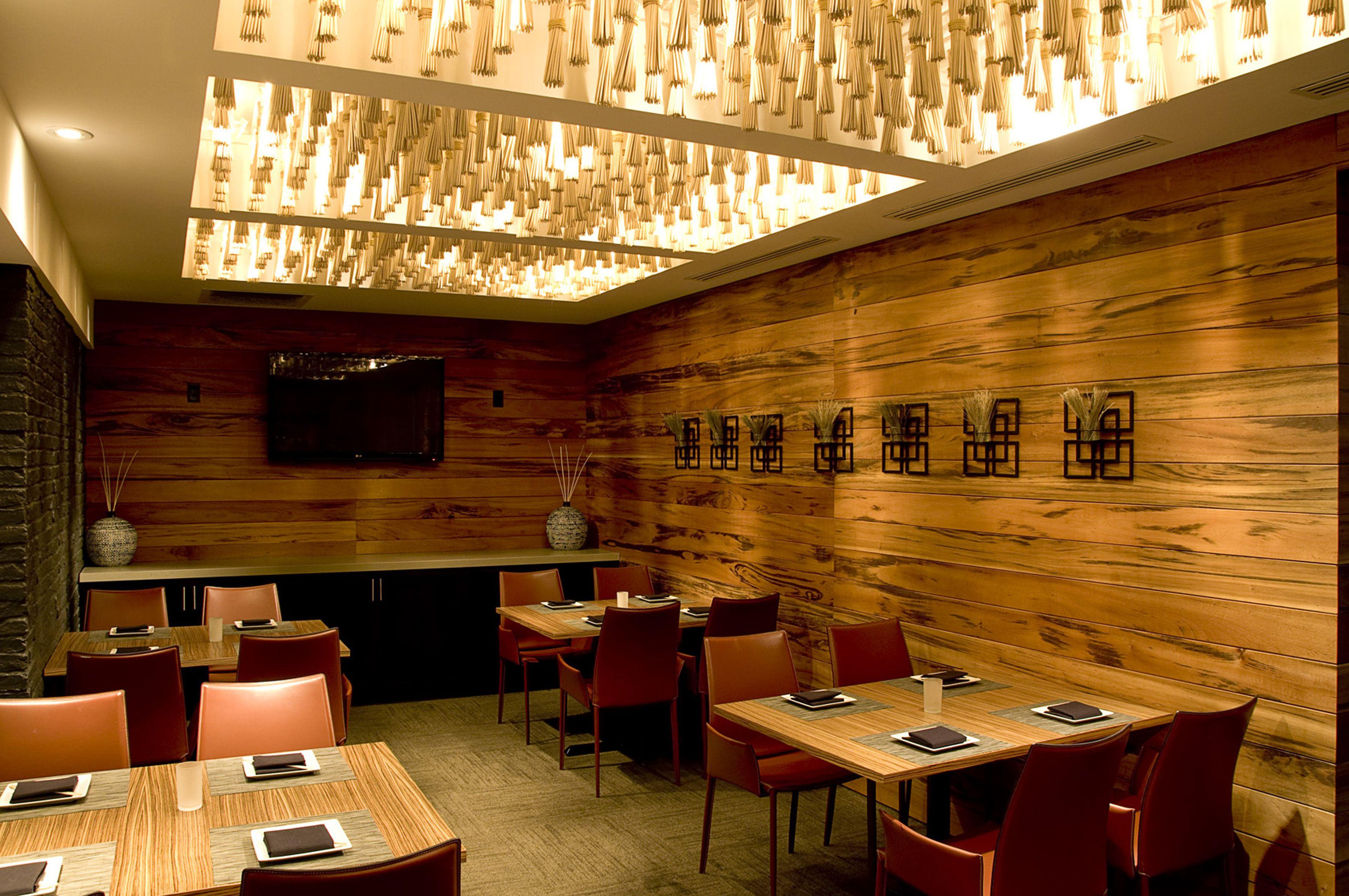 Virago Lotus Room In Nashville Tn By B2ad Custom Chopstick Light