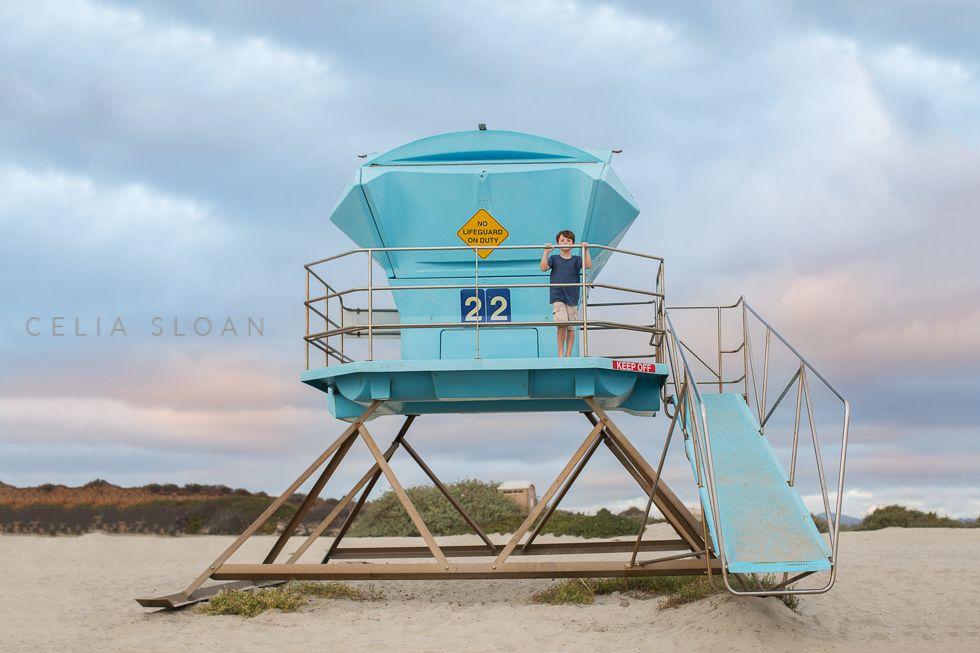 lifeguard lookout By Celia Sloan