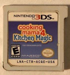 Cooking Mama 4 Kitchen Magic Nintendo 3ds Ds Dsi 2011