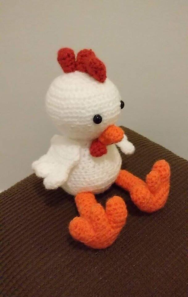 amigurumi-galinha