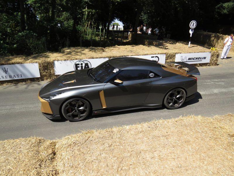 2018 Nissan Gtr50 Concept By Italdesign Goodwood Fos 2018 Debut