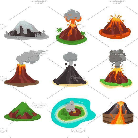 Volcano Magma Nature Blowing Volcano Volcano Projects Magma