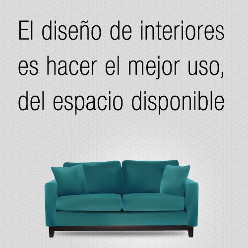 El dise o de interiores es hacer el mejor uso del for Diseno de espacios interiores