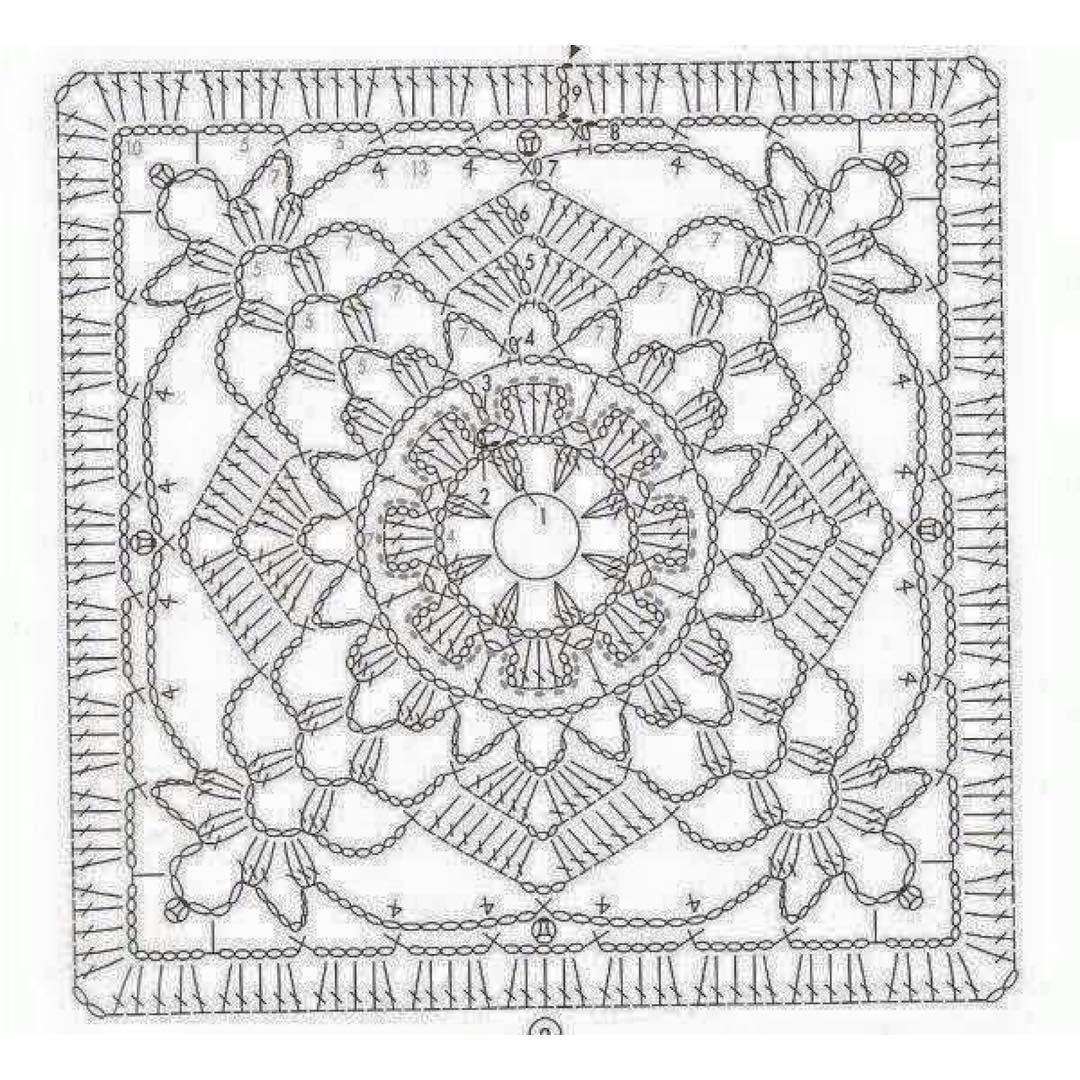 Pin de Tena Marie Jackson Messer en Vintage Crochet | Pinterest ...