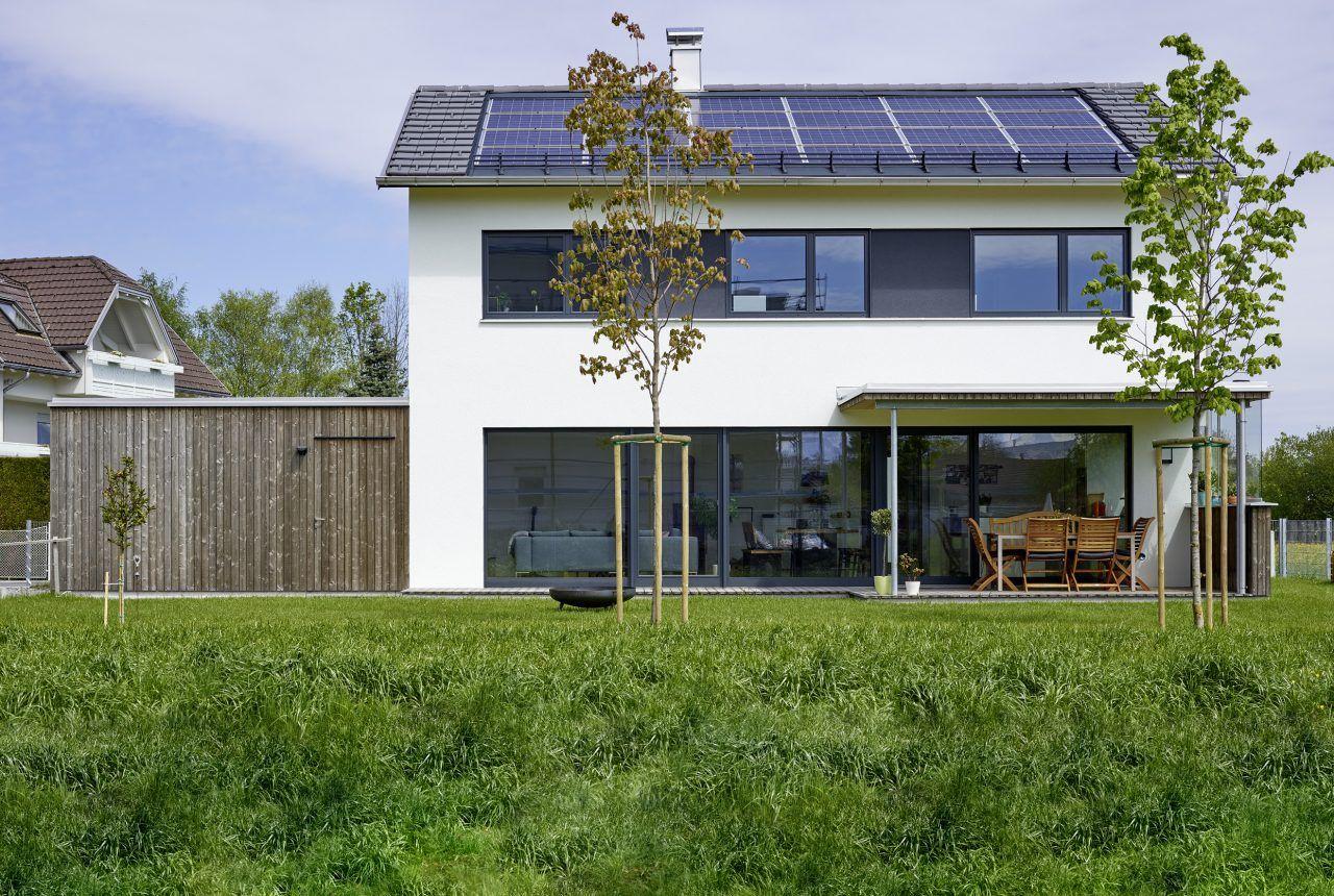 Architekt di udo hebein haus in 2019 haus bauen for Haus bauen architekt