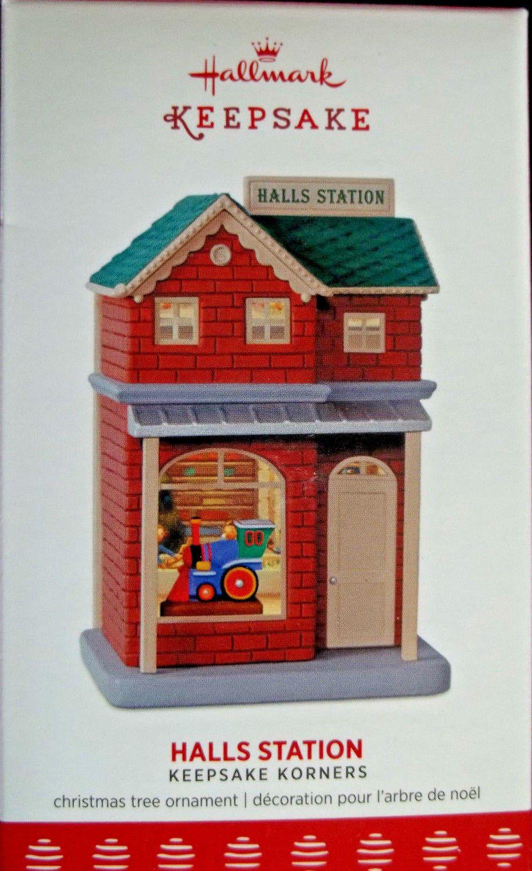 2017 Hallmark Keepsake Korners Hall Station Ornament
