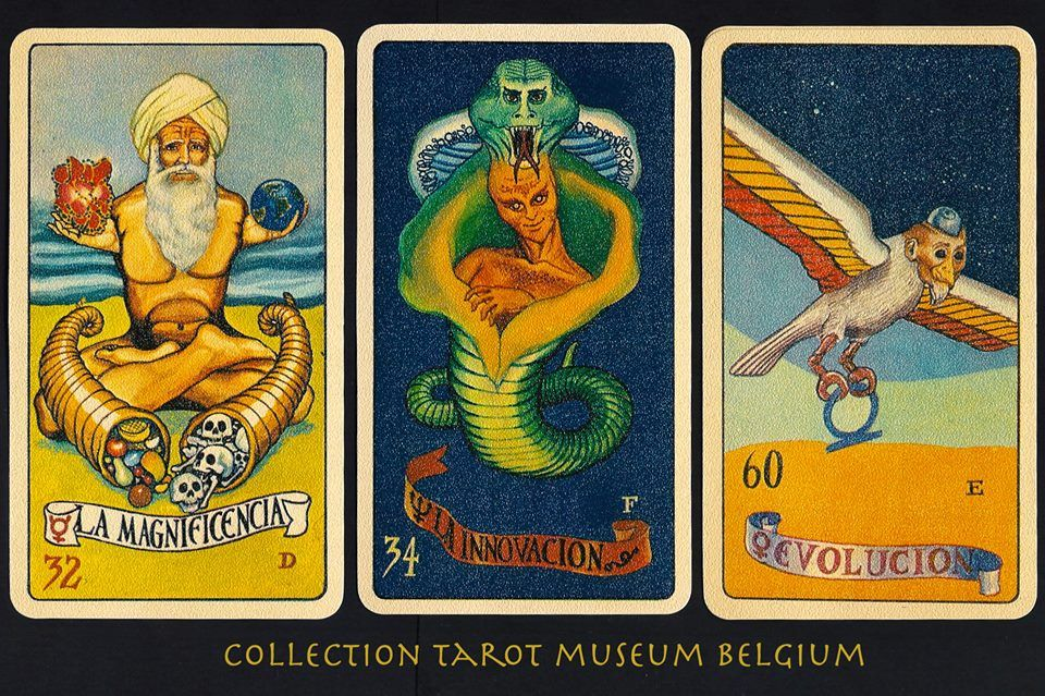 Tarot de Acuario set by 230-page book (in Spanish) by Rene Rebetez ...