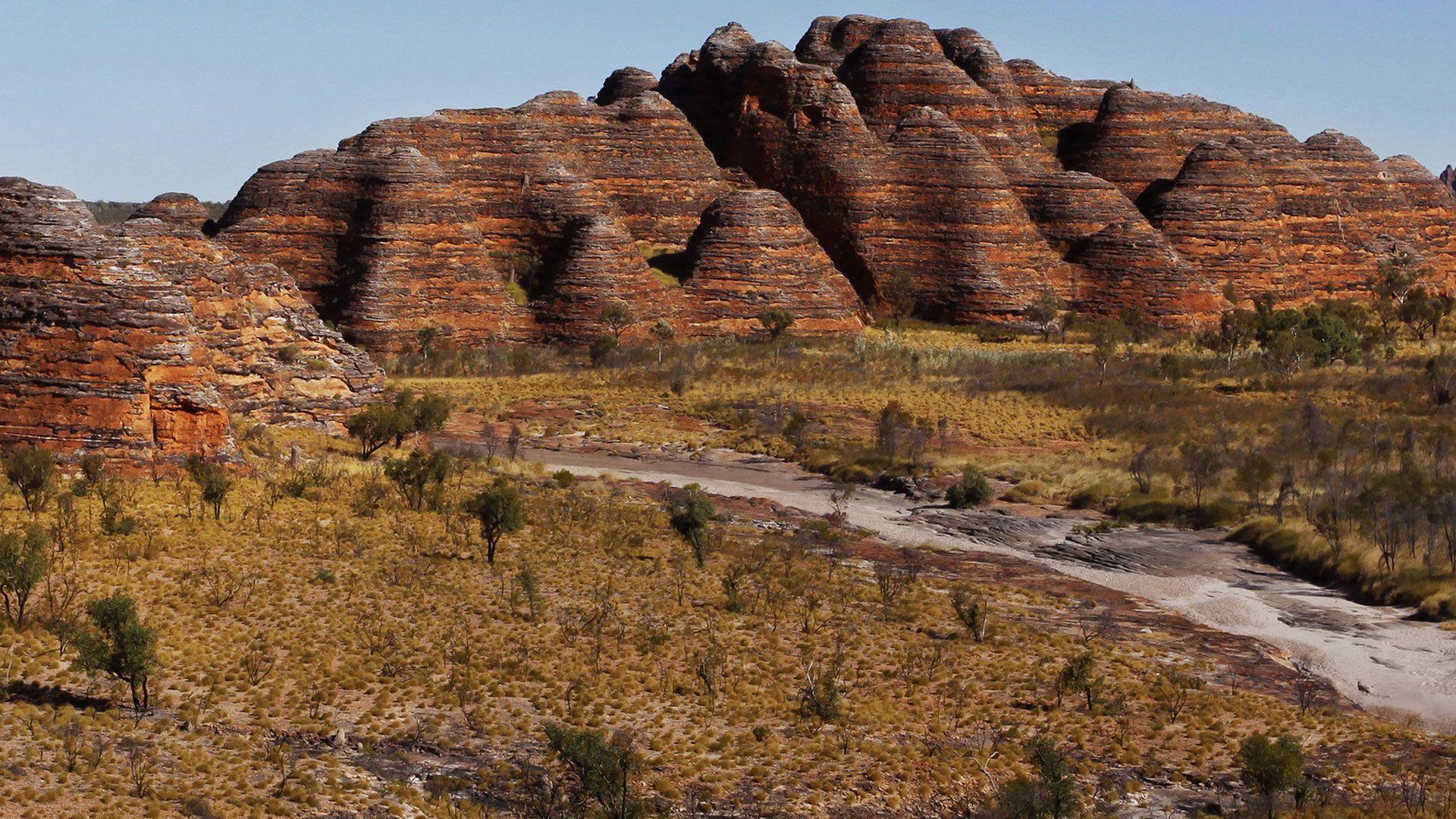 The Bungle Bungles in Purnululu National Park, Australia