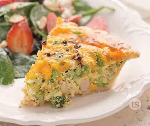 Chicken Broccoli Quiche Tastefully Simple Recipe Quiche Recipes Broccoli Quiche Tasty Broccoli Recipe