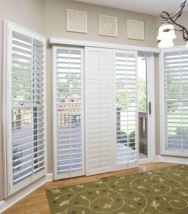 Shutters on sliding glass doors need the 8 foot version for 8 foot sliding glass door