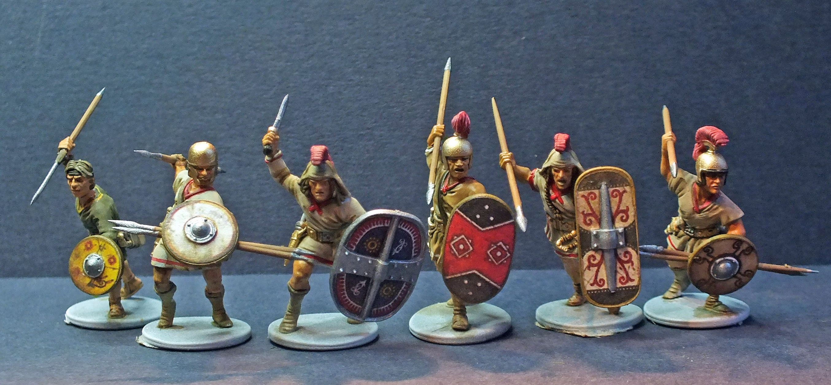 Ancients: Iberians new figures from Victrix Miniatures 6 examples