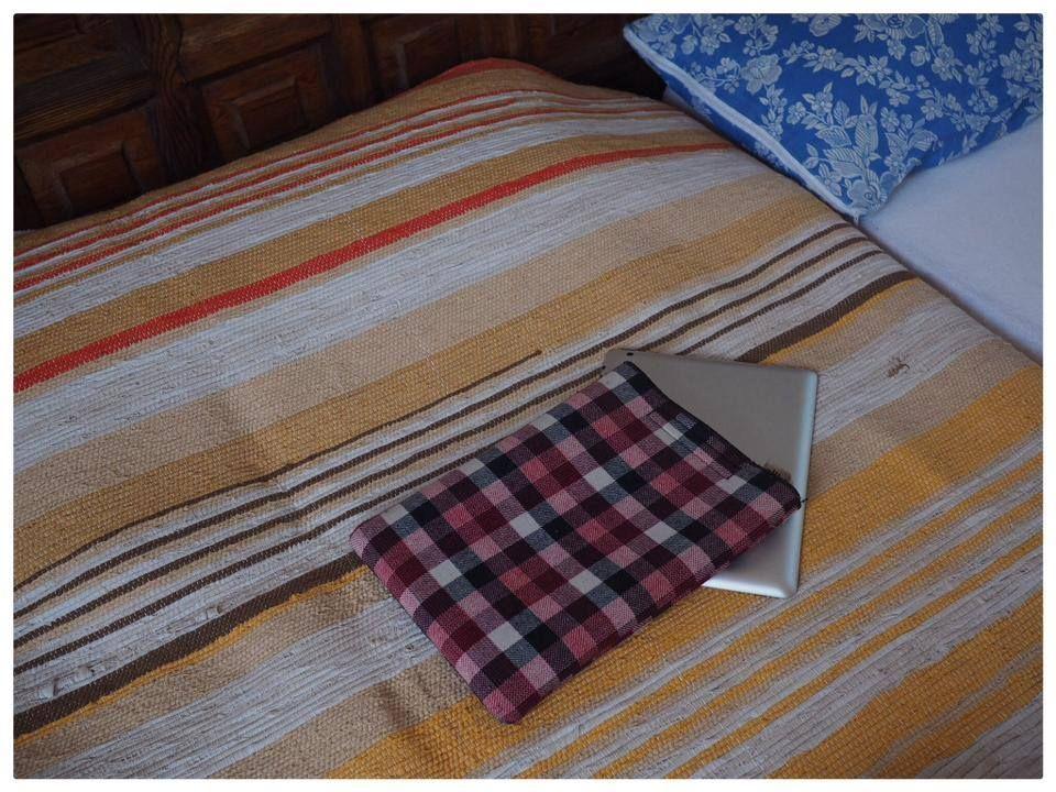 Lignes, fleurs et protection carreaux iPad #pijama. #style #summer #ipad #housse #couverture #decoration