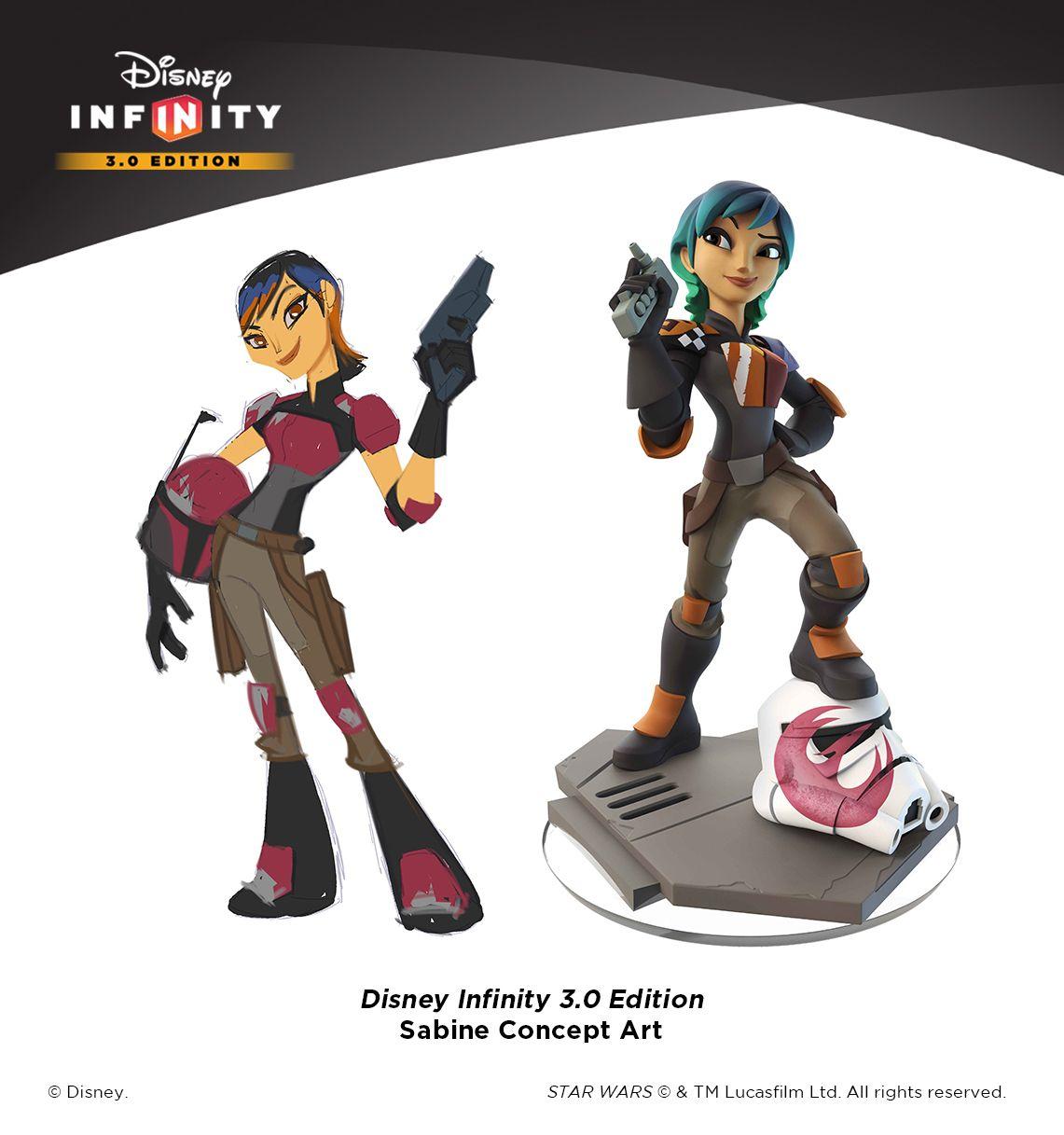 STAR WARS--SABINE WREN Disney Infinity  Edition 3.0