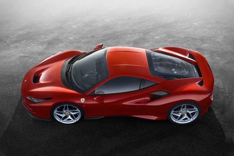 Ferrari F8 Tributo Coupe Super Cars Geneva Motor Show Sports Car