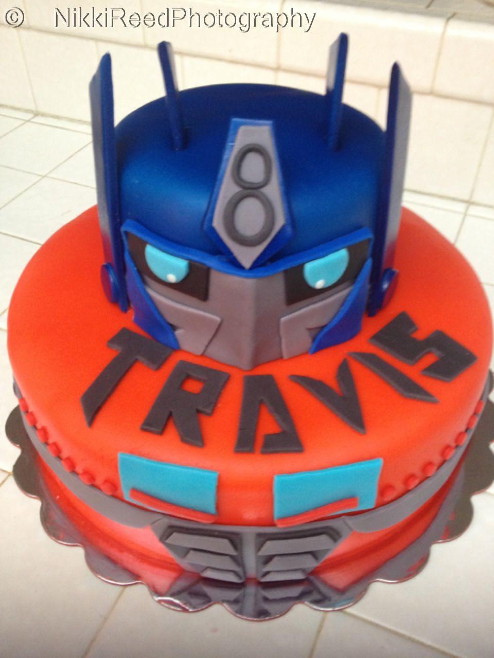 Transformers Birthday Cake Cake Ideas Pinterest Transformer