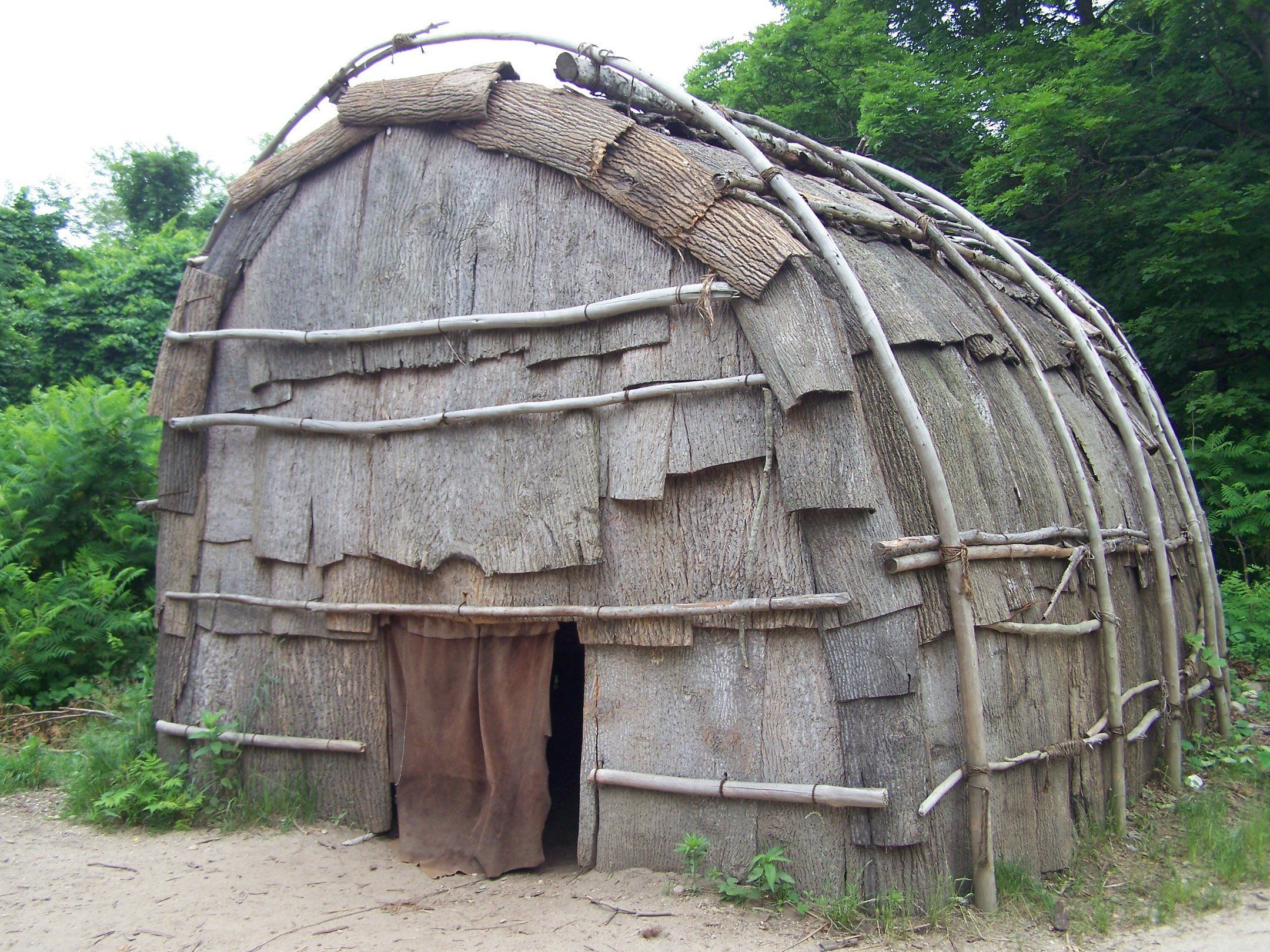 Wampanoag wetu house (With images) Native american