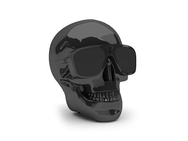 AeroSkull XS negro Jarre Technologies, fundada por el mito de la música Jean Michel Jarre, con su altavoz AeroSkull XS llévate la fiesta allá donde vayas, es un elemento indispens