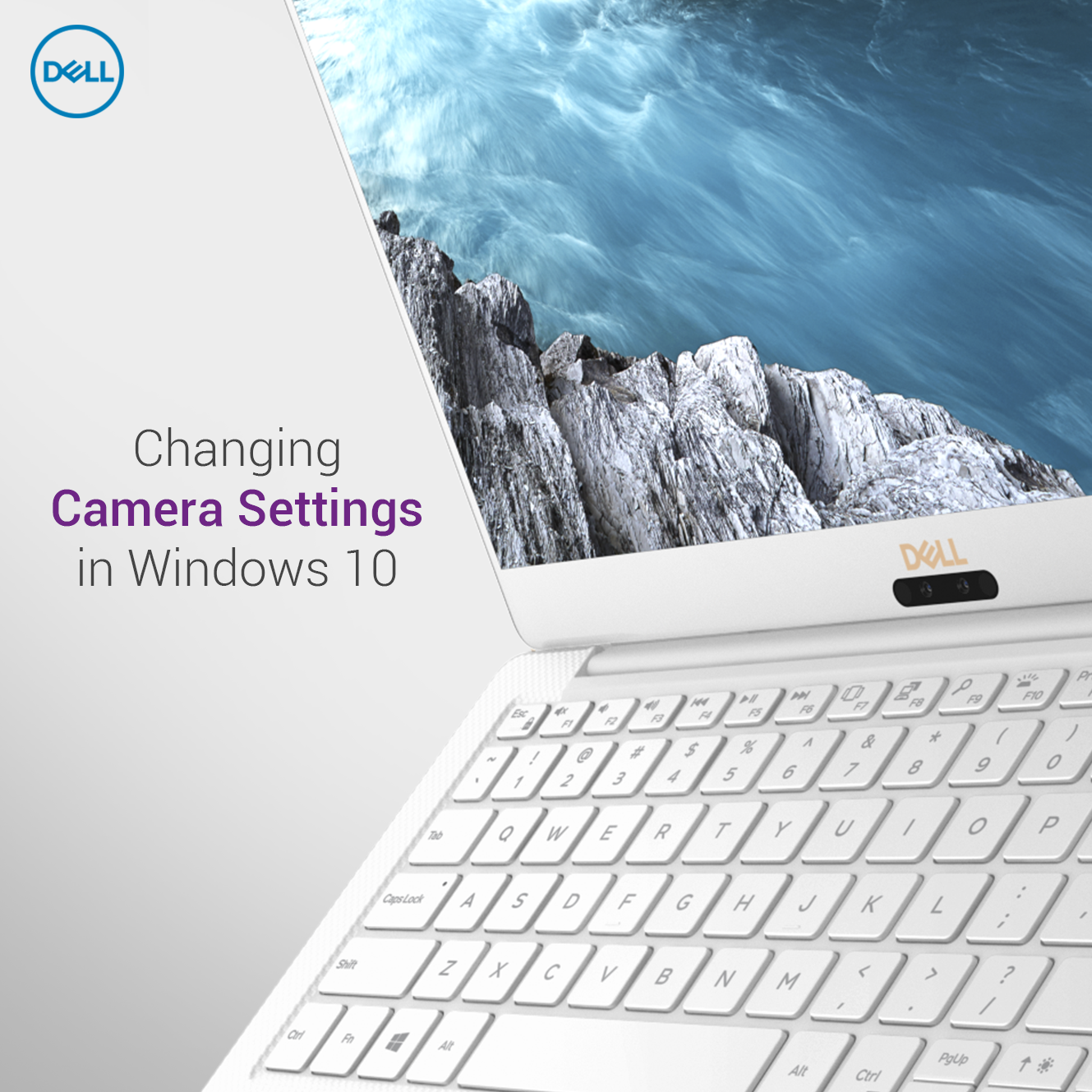 You can change the 📷 app settings on your Dell PC to get