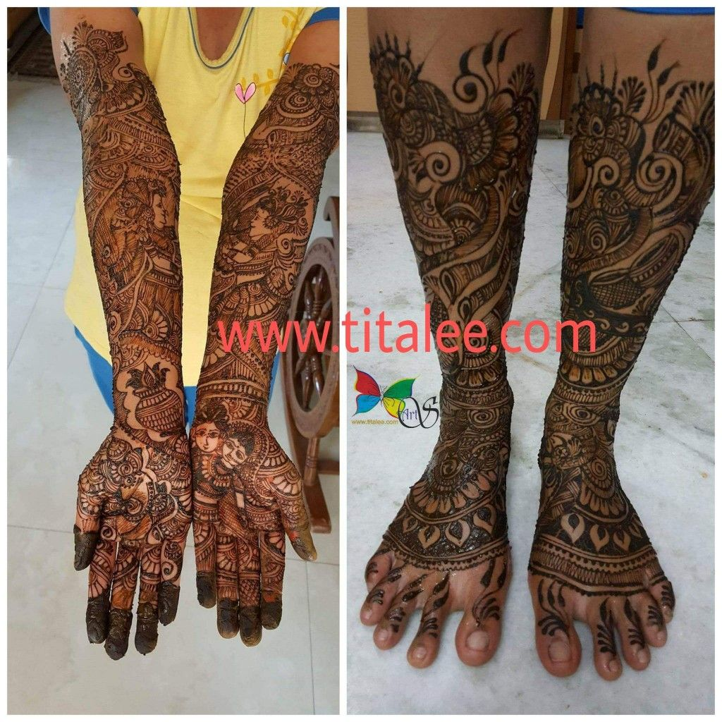 Pin by TITALEE ARTS on Mehndi Henna hand tattoo, Hand