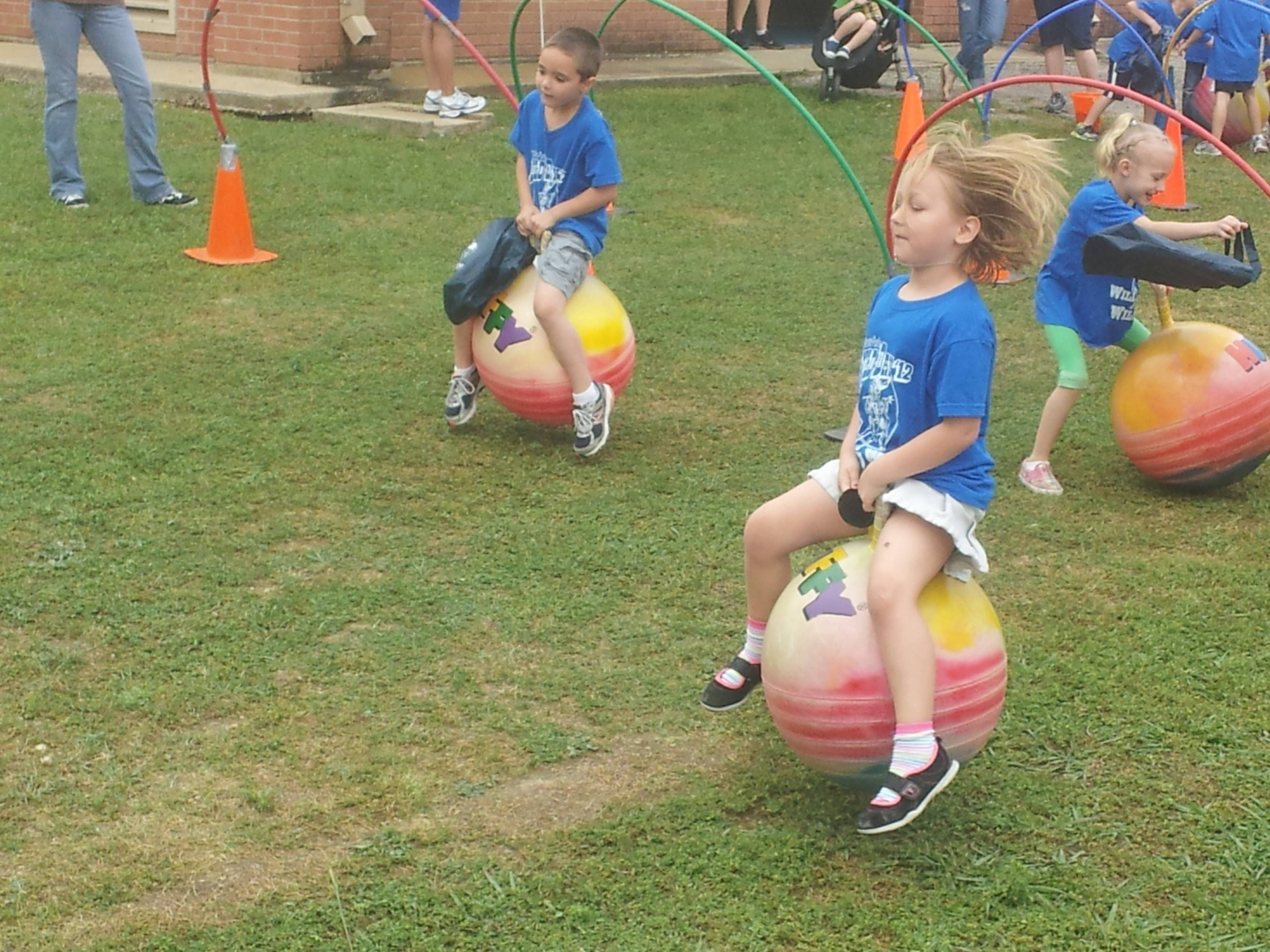 ANNIE PURL FIELD DAY IS THE BEST It was non stop fun