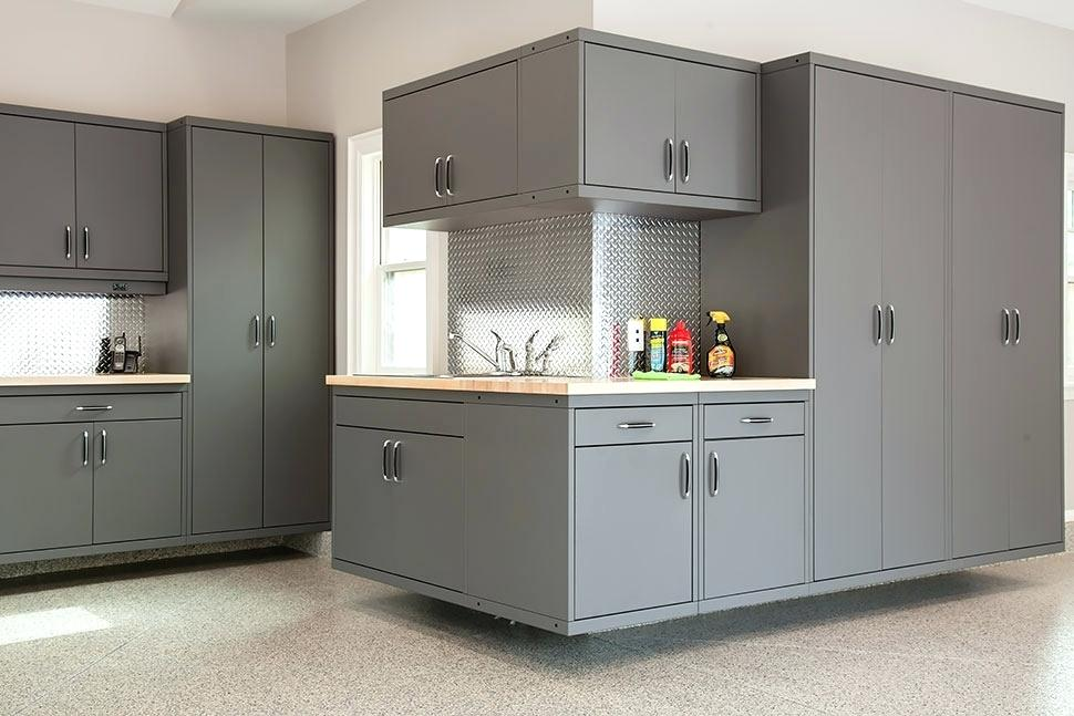 Aluminum Garage Cabinets Canada Falls Custom Steel Cabinet System Cabinetry Metal Kitchen Cabinets Garage Cabinets Garage Cabinet Systems