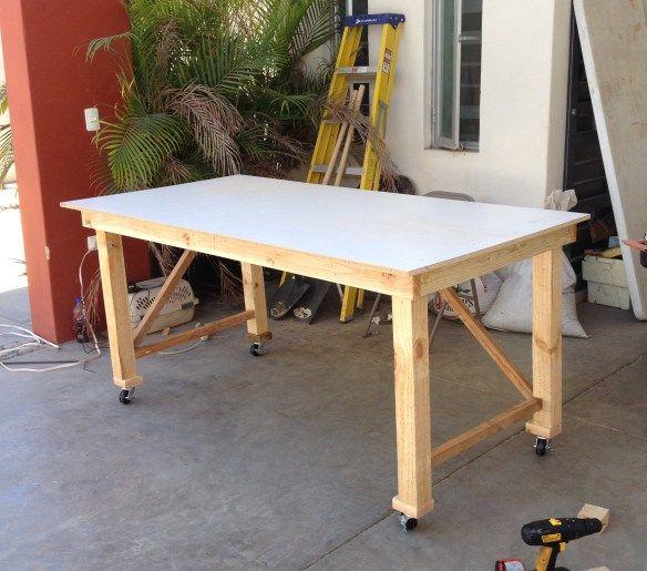 Cómo Hacer Una Mesa De Trabajo Proyecto Nuestro Taller