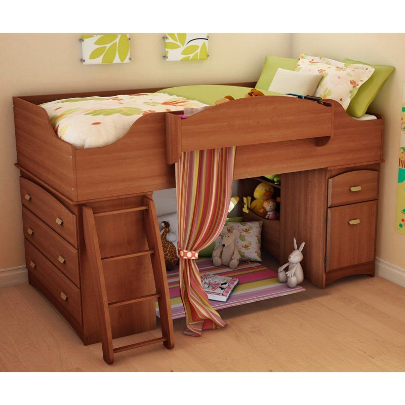 Imagine Low Loft Bed Morgan Cherry Loft Beds At Simply Bunk Beds