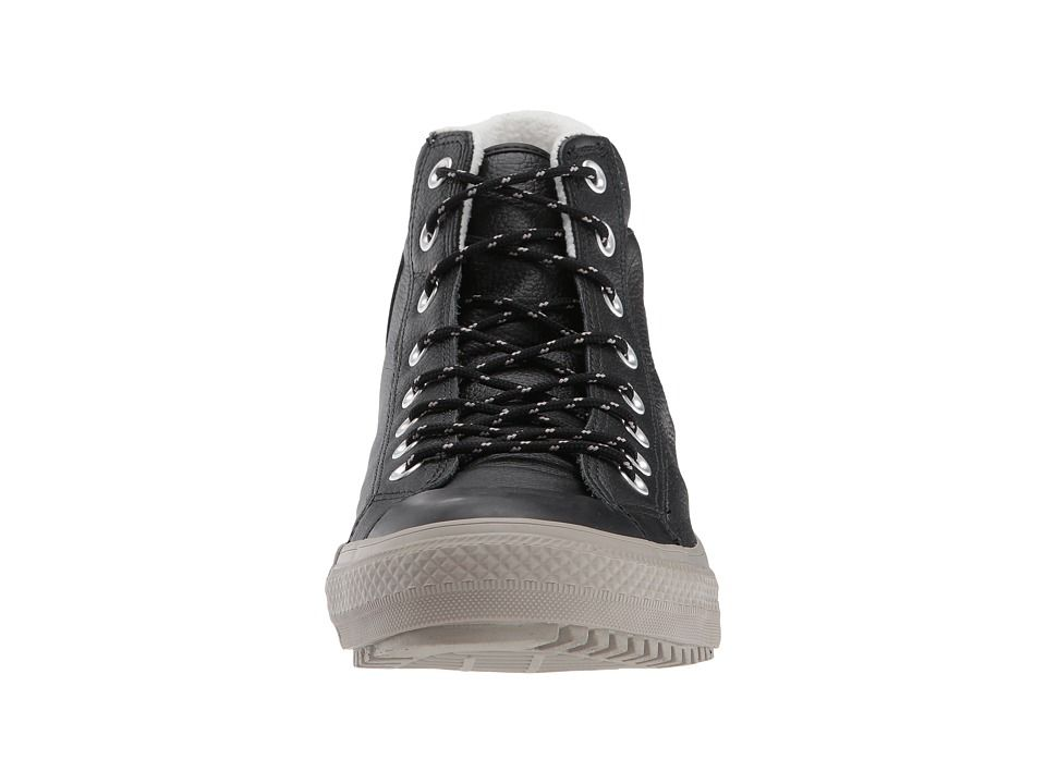 Converse Chuck Taylor(r) All Star(r) Boot PC Tumbled Leather Hi Men s  Lace-up Boots Black Black Malted 7ddee3904