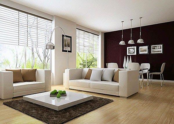 habitaciones minimalistas pequeñas - Buscar con Google Salón - sala comedor pequeo