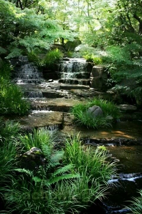 Pin de Jane Beach en rivers  waterfalls Pinterest Deberes - Cascadas En Jardines