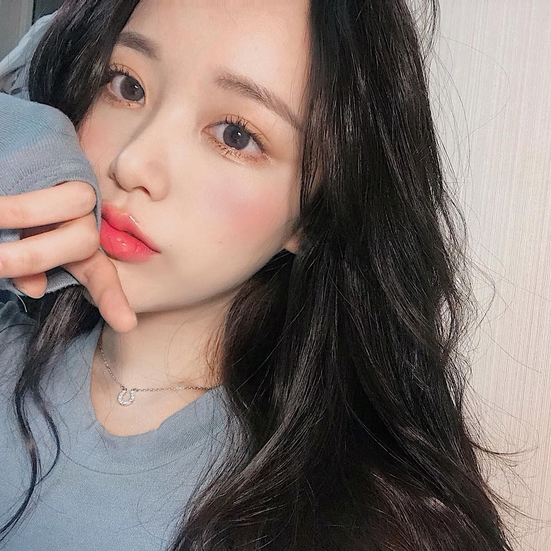 Aesthetic Ulzzang Hair Black Hair Korean Ulzzang Korean Girl