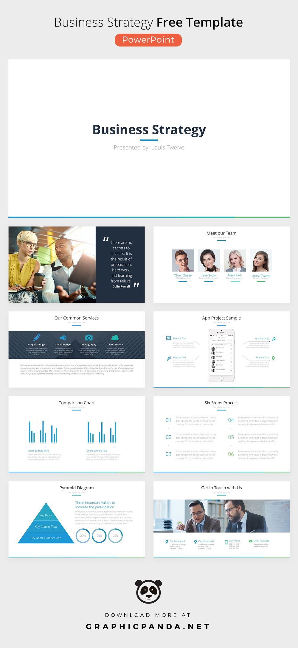 ppt free business ppt free business strategy powerpoint template pptx accmission Image collections