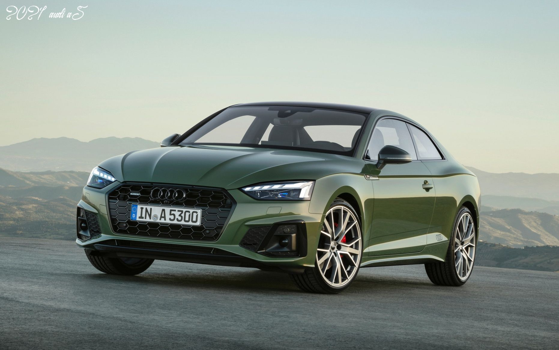 2021 Audi A5 ในปี 2020